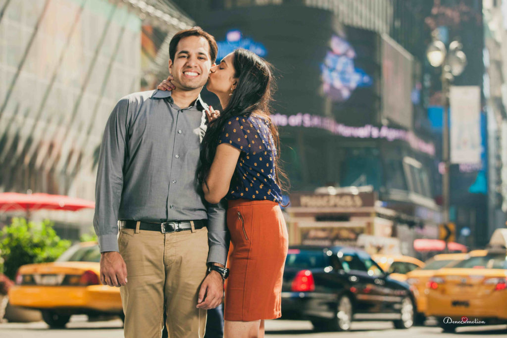 Engagement Shoot in Manhattan by Denee Motion